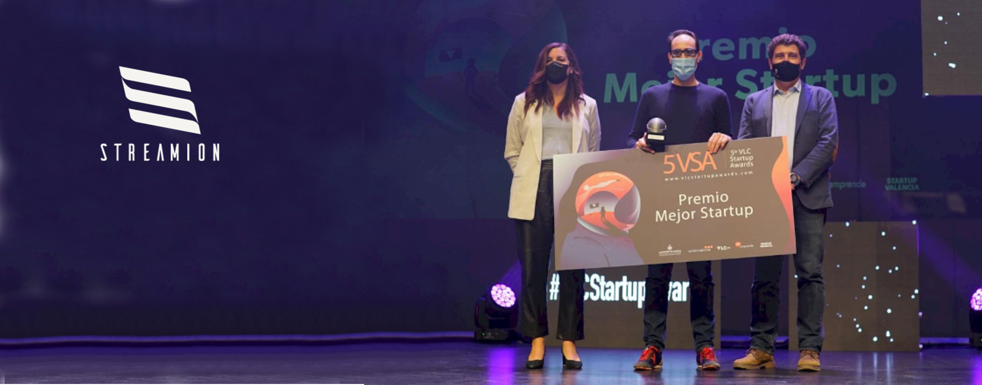 STREAMION – Best Valencia Startup for 2020